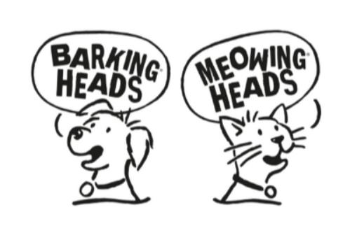 Barking Heads & Meowing Heads logo