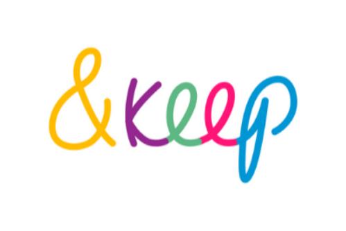&Keep logo