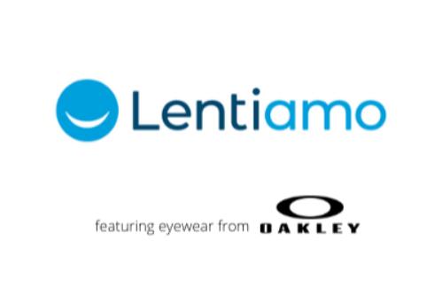 Lentiamo ft. Oakleys logo