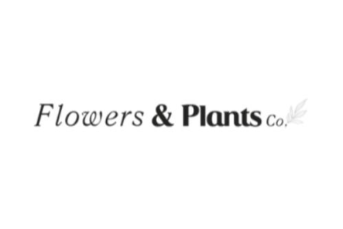 Flowers & Plants Co. logo