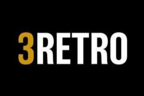 3RETRO Football logo